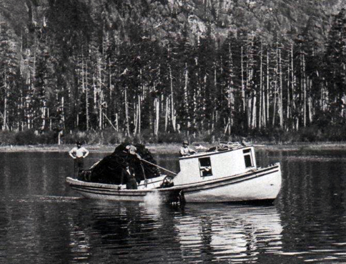 Early Seiners on the West Coast of Vancouver Island.